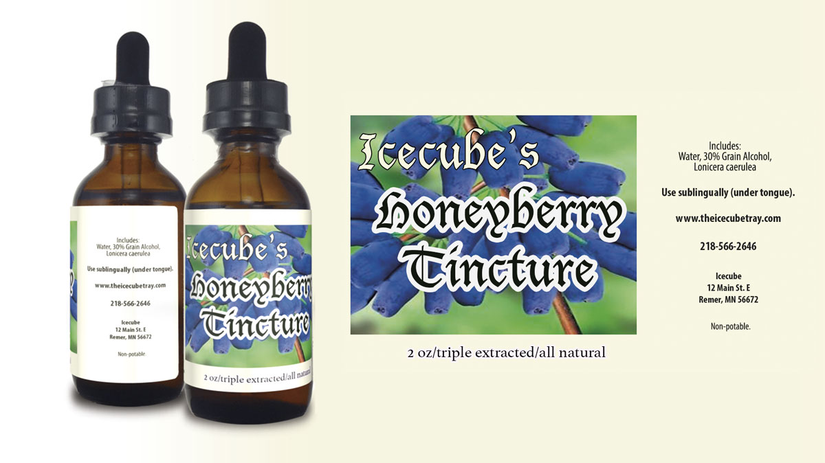 honeyberry, natural tincture