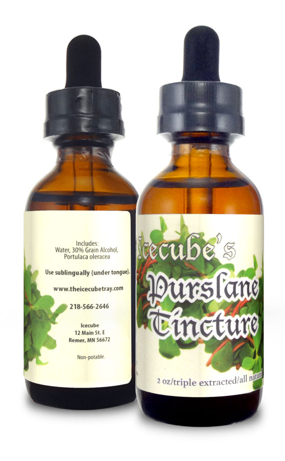 natural, tincture, purslane, medicinal, traditional, triple extract